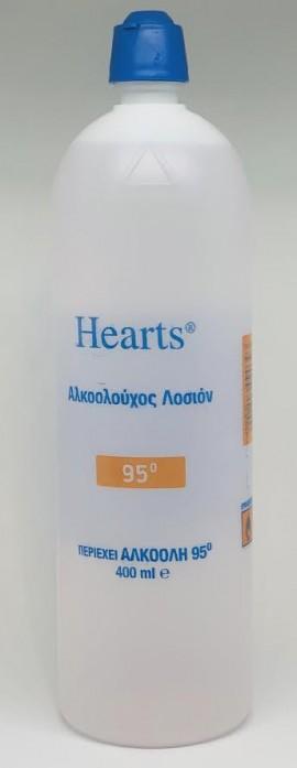 Viochrist Hearts Αλκοολούχος Λοσιόν 95° 400ml